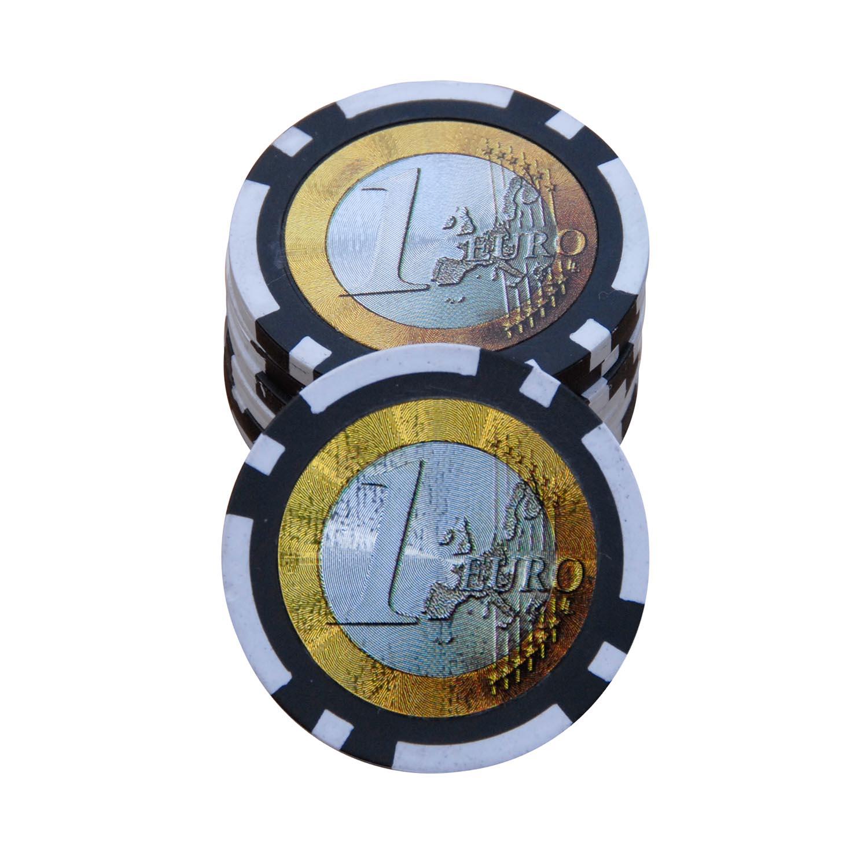 1 euro pokerchips