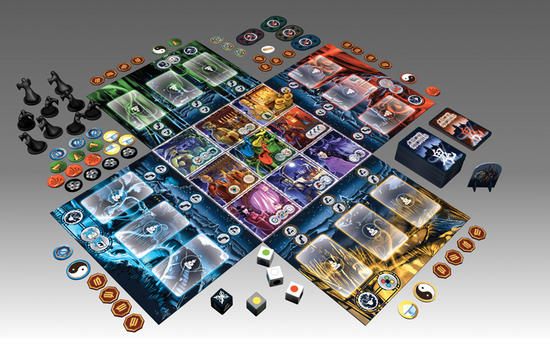 Ghost Stories - spelonderdelen