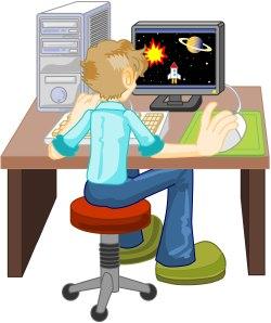 Te lang online spelen